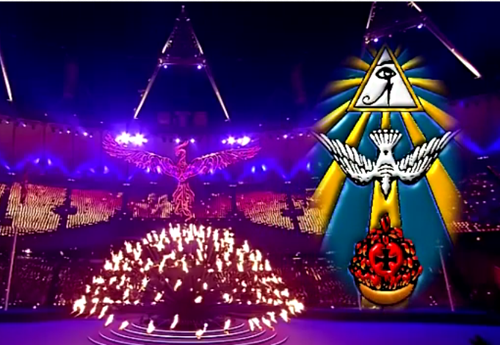 The London Olympic Occult Symbols
